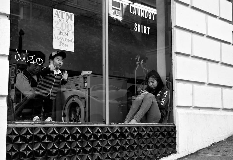 Laundry Window, Chinatown