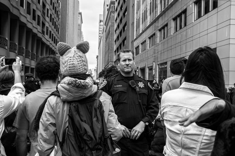 Street Demonstration: On Duty (I)