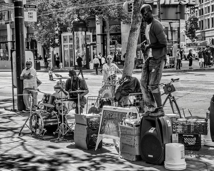 The Urban Funk Machine, Market Street