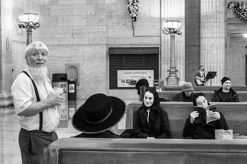 Amish, Union Station