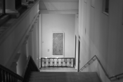 Museum Stairs, Looking Downward