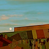 Tinted Sky, Painted Wall