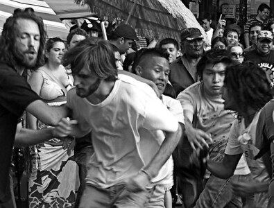 Mosh Pit - Feria del Sol, 16 August 2009, West 14th Street, NYC