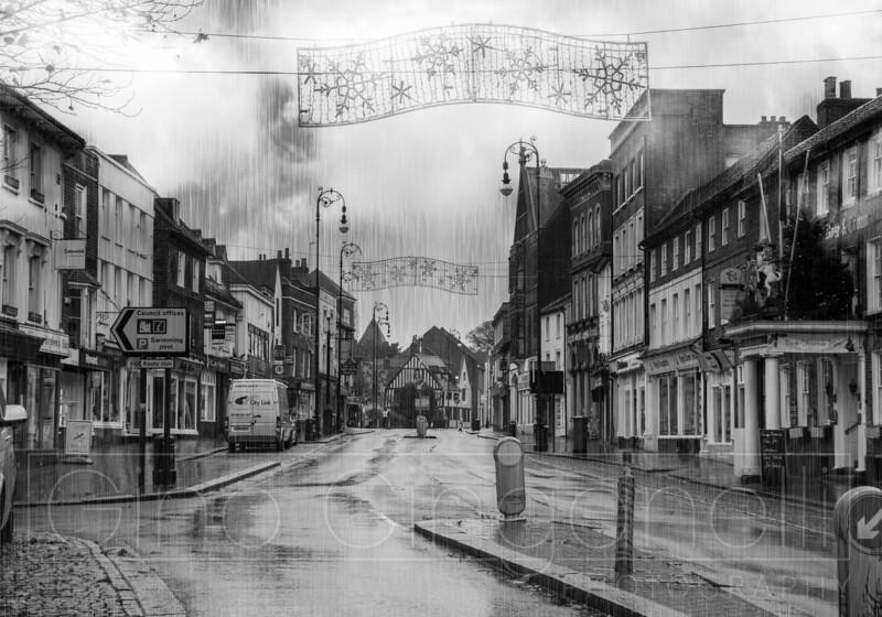 Street Photography in the rain