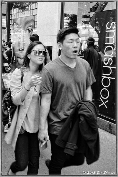 Couple in Downtown