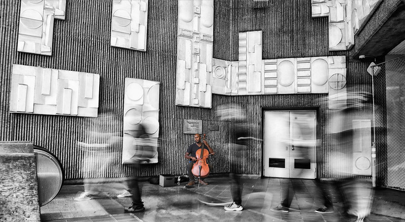 """A cellist for Change"""