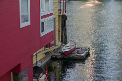 Float house with Dinghy