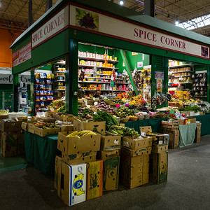 Spice Corner: Covered Market, Leeds