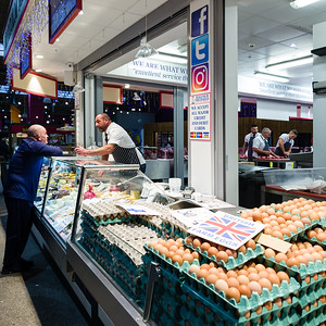 Egg Heads: Covered Market, Leeds