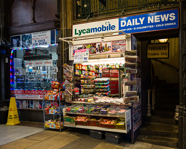 News Stand. Covered Market, Leeds