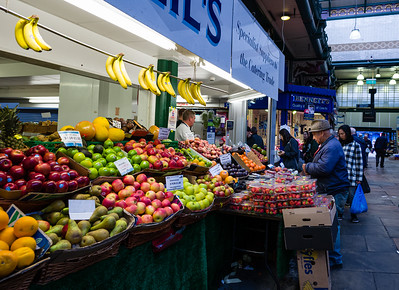 Getting Your Five-a-Day: Covered Market, Leeds