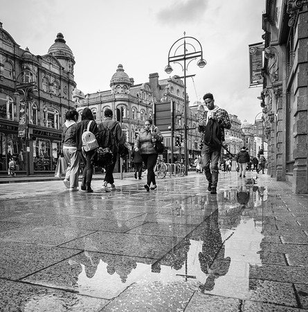 After the Rain: Reflections, Leeds