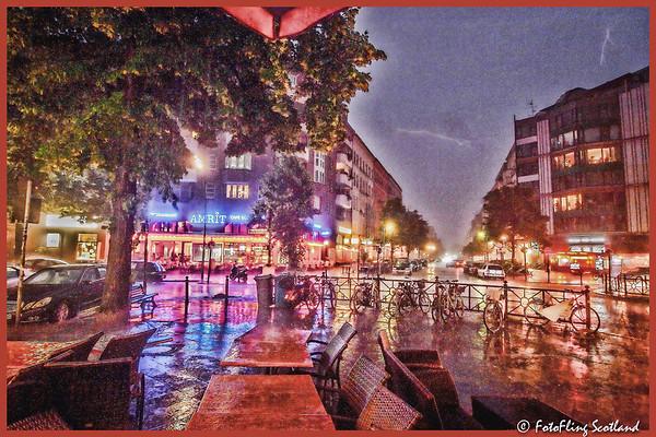 Thunderstorm in Berlin