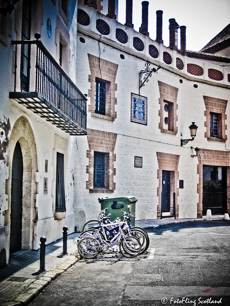 Bicycles in Sitges
