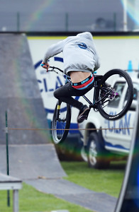 The Jumping Cyclist