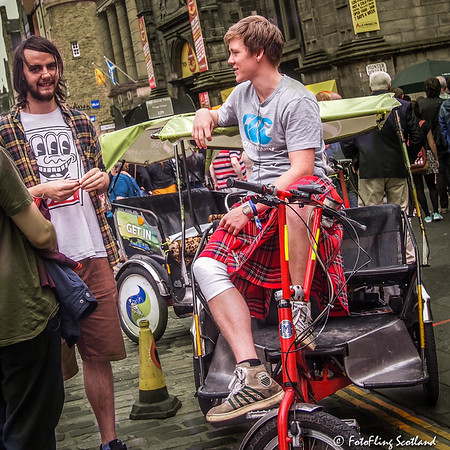 Be-kilted Edinburgh Transportation
