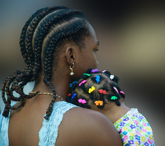 Braids and Barrettes:  St. George's,  Grenada