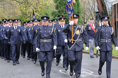 Vancouver Police at Remembrance Day