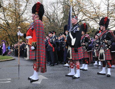 On Guard - Vancouver Police and VPD Pipe Band