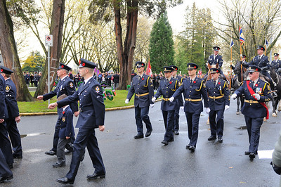VPD Marching In