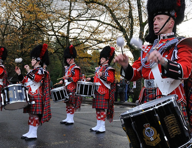 Pipe Band Drum Roll
