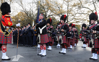 Pipe Band at Remembrance Day