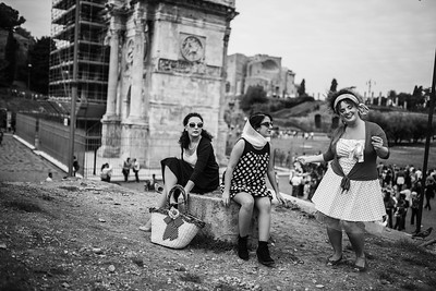 picnic al Colosseo