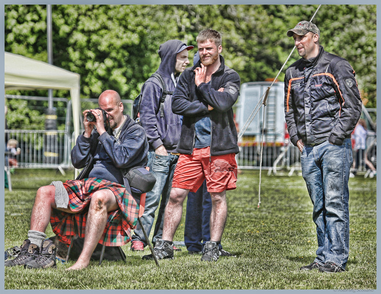 Backhold Wrestling at Helensburgh Highland Games 2013