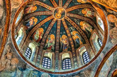 Ceiling Fresco: Kariye Museum, Istanbul, Turkey