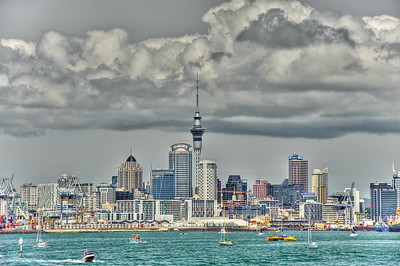 Auckland Harbor, NZ
