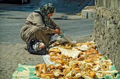 Bread Lady:  Istanbul, Turkey
