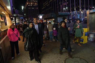 Saturday Night on Times Square