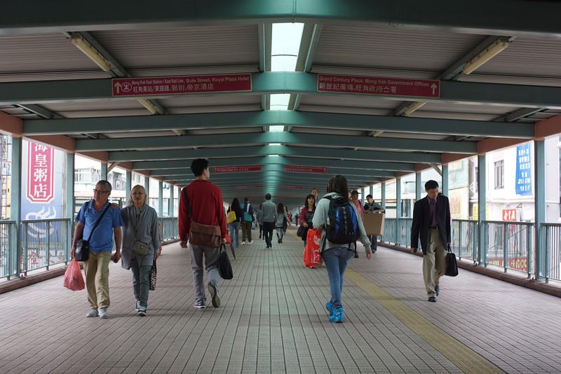 Mong Kok Walkway