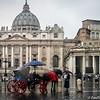 Kilts & Umbrellas at the Vatican