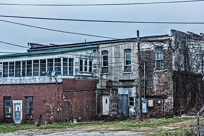 Urban decay in small town (Attica) Indiana