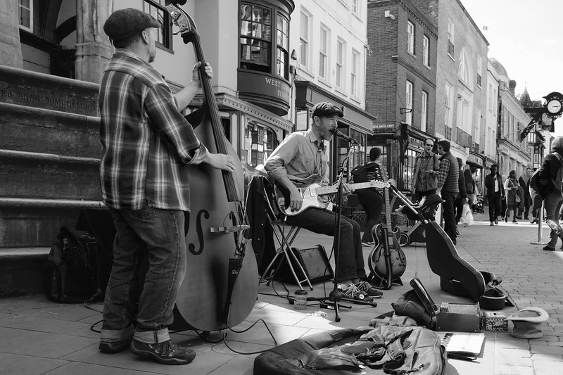 Live Street Music In Winchester
