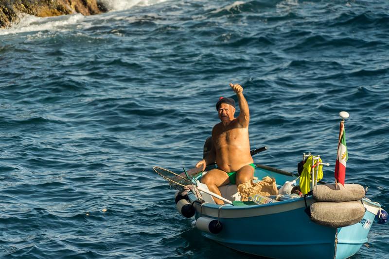 Fisherman, Vernazza