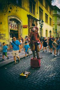 Street Performer, Prague