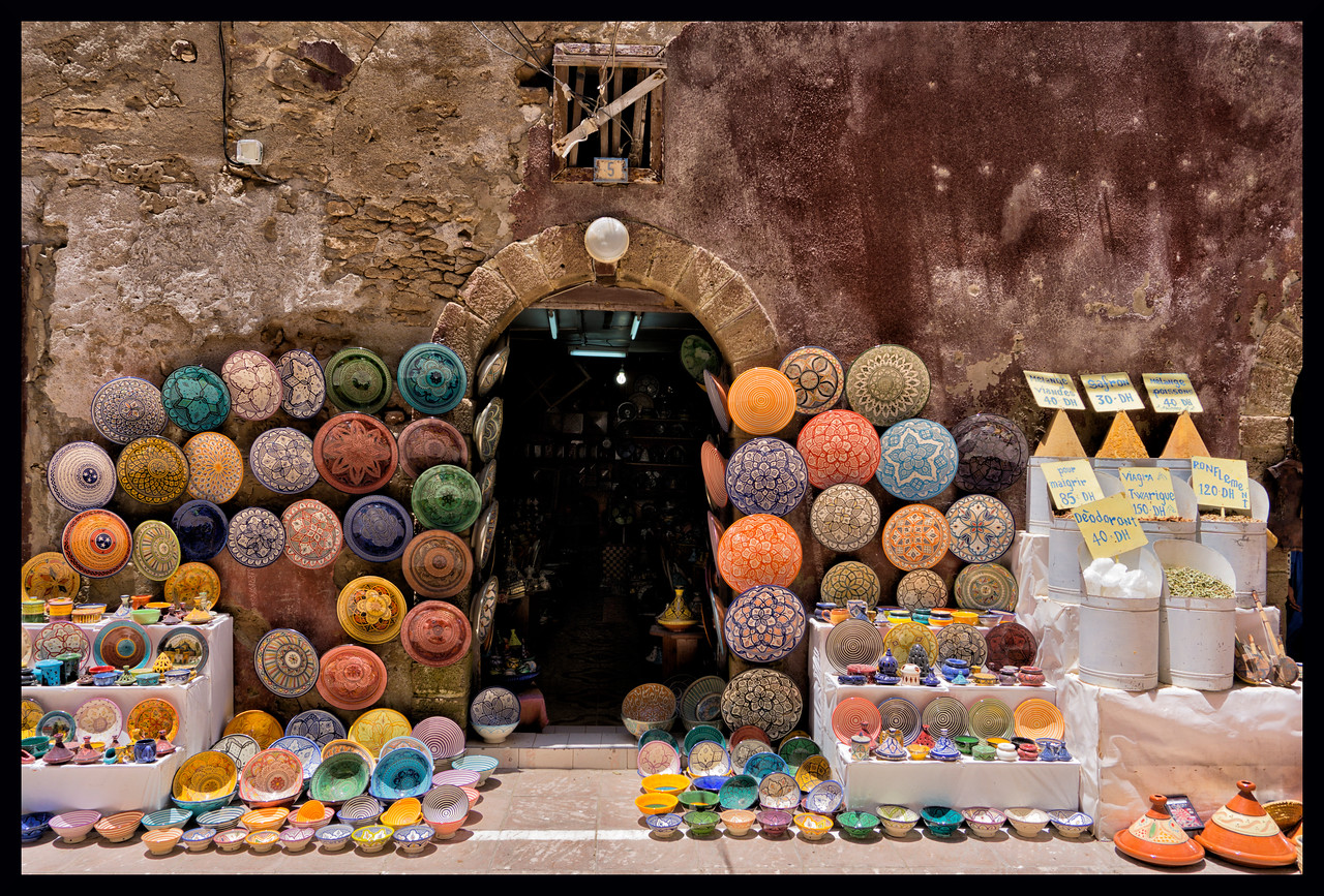 Colors of Essaouira I