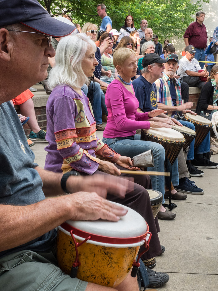 Drum Circle in the Park