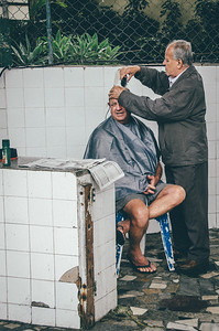 Fish Market hair cut (Rio De Janeiro BRAZIL)