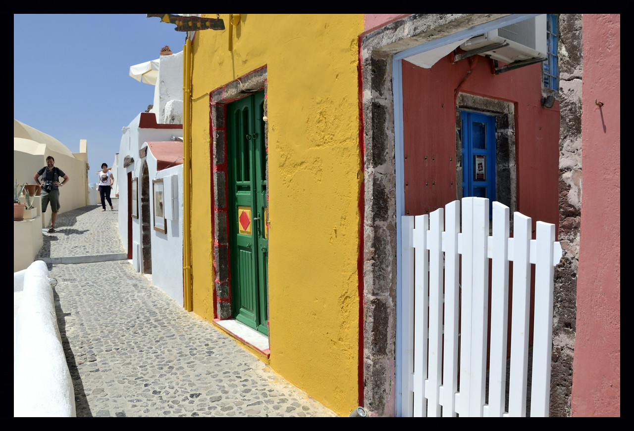 Colors of Santorini II