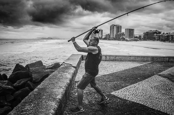 Catch of the day (Rio De Janeiro BRAZIL)