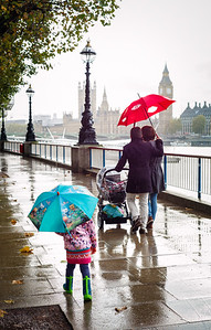 Umbrellas; South Bank