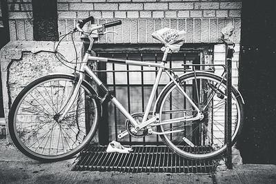 Bike in Manhattan