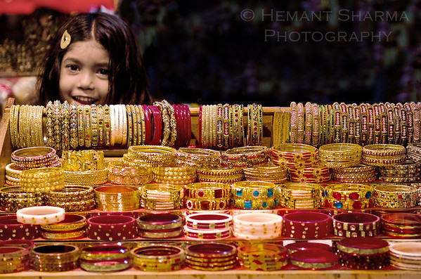 The Bangle Girl.......