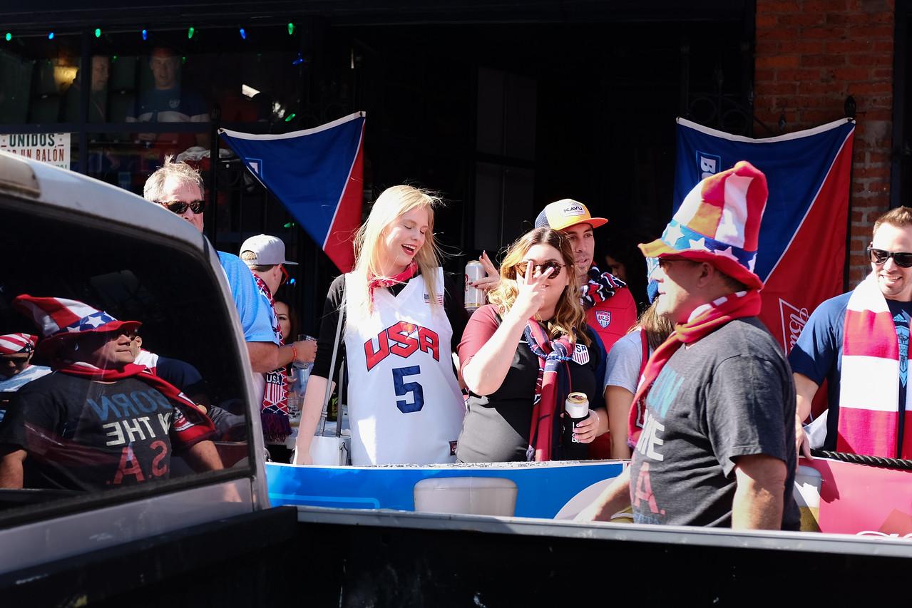 Copa America quarterfinal fans | Seattle, WA | June 2016