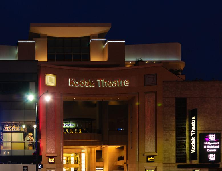 The Kodak Theatre- home of the Academy Awards.
