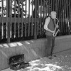 Unknown Sax player, Seattle