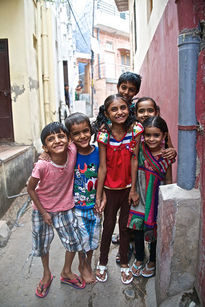 The children were the friendliest! Jodhpur, Rajasthan